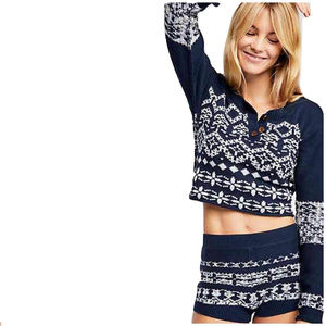NWT Free People Cabin Day sweater set
